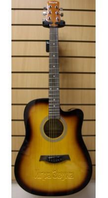 Фото BREGITTA IW11C (Western Guitar Акустическая вестерн-гитара)