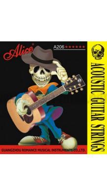 Фото ALICE A206 (Стальные струны для гитары в медной оплетке)