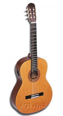 Фото HOHNER HC06E (Классическая гитара 4\4 со звукоснимателем (с пьезодатчиком))