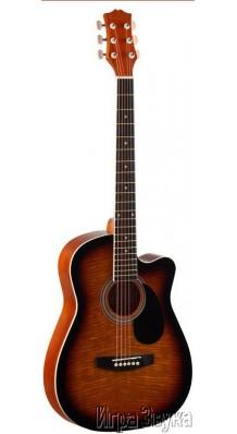 Фото HOMAGE LF-3800CT-SB (Акустическая гитара с вырезом)