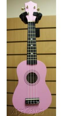 Фото J KOSMAN UK10PK (укулеле Сопрано, цвет розовый)