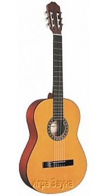 Фото CARAYA C-941 4/4 Y-L (Классическая гитара Шестиструнная с нейлоновыми струнами)