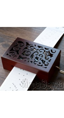 Фото MUSIC BOX MB002 (Механическая музыкальная шкатулка с любой мелодией)