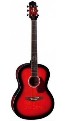 Фото NARANDA CAG280RDS (Акустическая гитара красного цвета, корпус - ель)