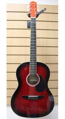 Фото NARANDA CAG240RDS (Акустическая гитара красного цвета)