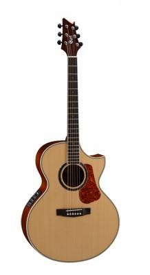 Фото CORT NDX-20-NAT NDX SERIES (Электро-акустическая гитара, с вырезом, цвет натуральный глянцевый)