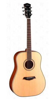 Фото PARKWOOD P610 (Акустическая гитара, дредноут, с футляром)