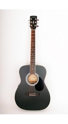 Фото PARKWOOD PF51E-BKS (Электро-акустическая гитара с чехлом)