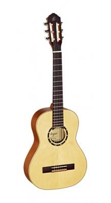 Фото ORTEGA R121-1/2 FAMILY SERIES (Классическая гитара 1/2 (натуральный матовый)с чехлом)
