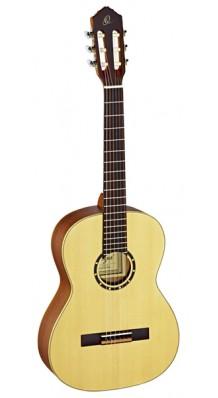 Фото ORTEGA R121-7/8 FAMILY SERIES (Классическая гитара 7/8 (натуральный матовый)с чехлом)