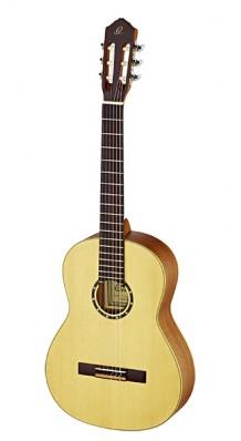 Фото ORTEGA R121L FAMILY SERIES (Классическая гитара 4/4 ЛЕВОРУКАЯ (натуральный матовый)с чехлом)