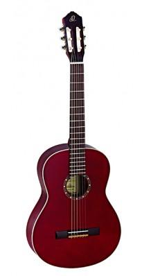 Фото ORTEGA R121WR FAMILY SERIES (Классическая гитара 4/4 (красная глянцевая)с чехлом)
