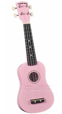 Фото DIAMOND HEAD PINK (Розовая укулеле сопрано с чехлом в комплекте)
