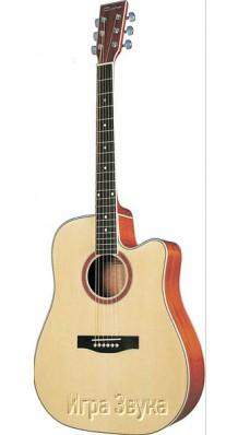 Фото CARAYA F668CNAT (Акустическая шестиструнная гитара)