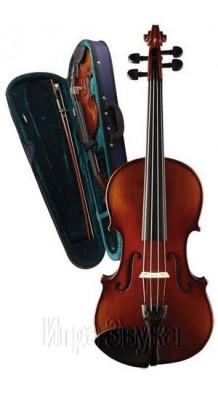 Фото CARAYА MV-003 (Скрипичный комплект 1/2 с футляром, смычком и канифолью)