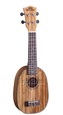Фото UK DREAM US224P (Сопрано-укулеле в форме ананас, корпус - зебрано)