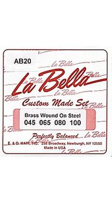 Фото LA BELLA AB20 (Комплект струн для акустической бас-гитары)
