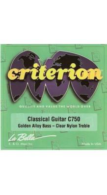 Фото LA BELLA C750 CRITERION (Струны для классической гитары среднего натяжения)