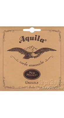 Фото AQUILA NEW NYLGUT 4U (Итальянские струны для укулеле сопрано)