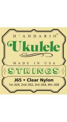 Фото D'ADDARIO J65 (Комплект струн для укулеле-сопрано, США)