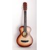 уменьшенная, акустическая гитара из березы