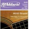 комплект металлических струн в бронзовой оплетке для гитары