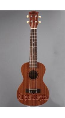 Фото UK DREAM UC110 (4-струнная концертная укулеле, цвет - натуральный, корпус - красное дерево)