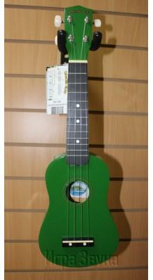 Фото DIAMOND HEAD DHU105GN (Зеленая сопрано-укулеле с чехлом в комплекте)