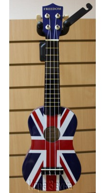 Фото FREEDOM UK-20P1 (Укулеле сопрано, дизайн - британский флаг)